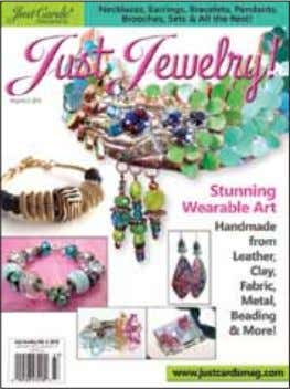Only JustCards! PRESENTS Just Jewelry volume 2 fabulous handmade pieces of features jewelry in a variety