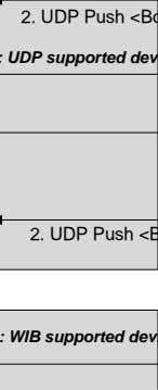 WIB Procedures MS IP address, MS session timer> MS IP address, MS session timer> Case#1: UDP