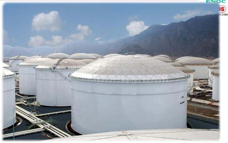8 Nos. Product Storage Tanks of sizes: 55m Dia x 25m Ht. 4 Nos. & 39m