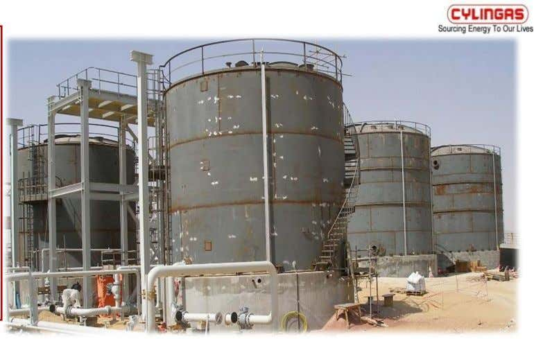 Water Tanks of size 9.14m Dia x 7m ht. & 2 Disposal Water Tanks of size