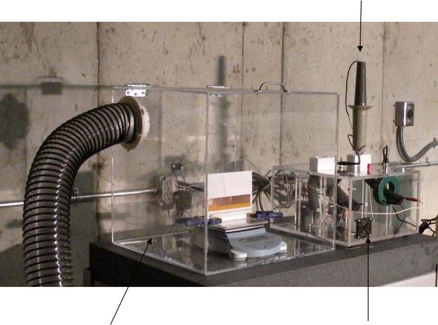 Enhanced Plasma Actuation through Plasma Catalysis HV Probe July 2010 PlexiGlas® containment box Power Supply 9