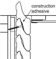 construction adhesive