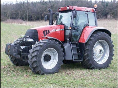 Cedex Number and date of approval: 1/1997, September 6, 2002 Dieseltractor CASE IH 9090.71 (50 km/h