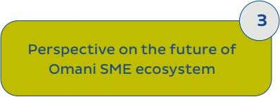 3 Perspective on the future of Omani SME ecosystem