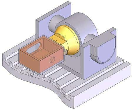 X Direction (second point) Coordinate System definition Clamping SolidCAM automatically assigns the new Position