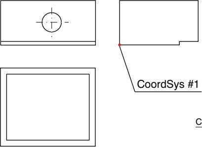 The X and Y axis direction will be determined automatically. Y Direction CoordSys #1 CoordSys Origin