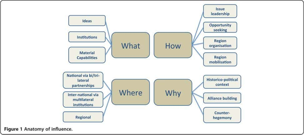 Figure 1 Anatomy of influence.