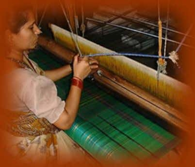 of weavers from 300 to 2000. - Empower women, most of whom are the sole supporters