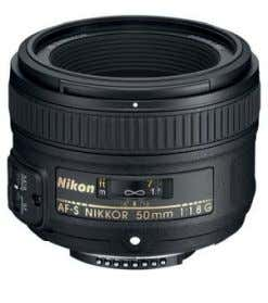 AF-S NIKKOR 50MM F/1.8G A standard 50mm lens is not generally considered very exciting or