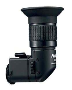 they remain an essential aid for low-level close-up work. RIGHT-ANGLE FINDER Although Live View has reduced