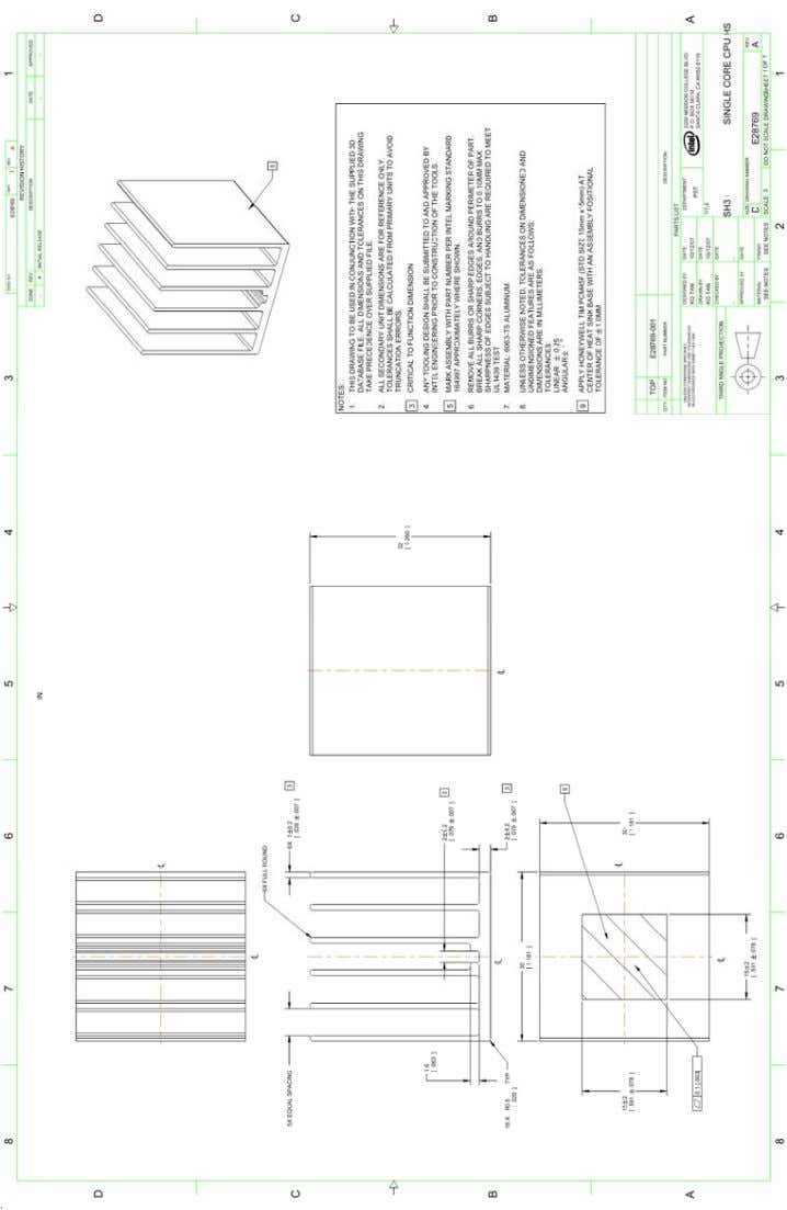 ® Atom™ Processor 200 Series / SiS Chipset Platform (E28769-001) Thermal and Mechanical Design Guidelines 43