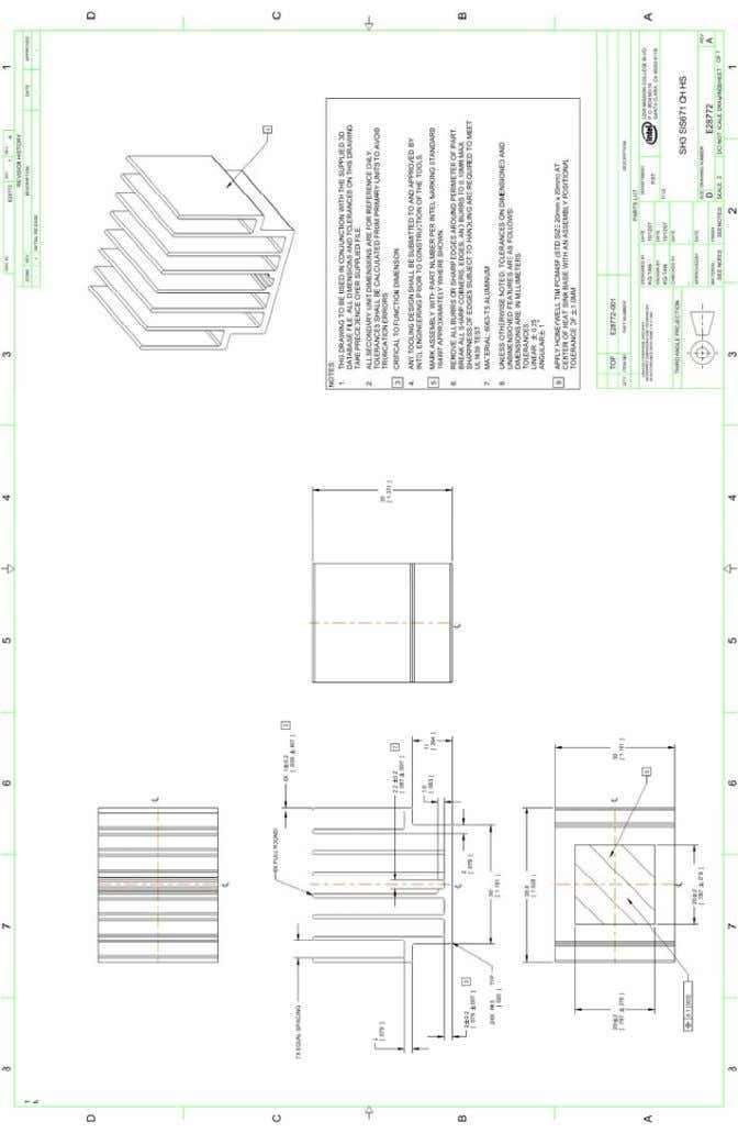 ® Atom™ Processor 200 Series / SiS Chipset Platform (E28772-001) 46 Thermal and Mechanical Design Guidelines