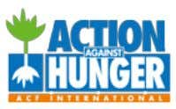 within the Alliance financially supported this project: Action Against Hunger is committed to ending child hunger.