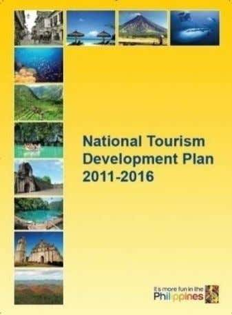 9593) and the National Tourism Development Plan 2011-2016 Mandate Plan, develop, regulate, and promote the tourism
