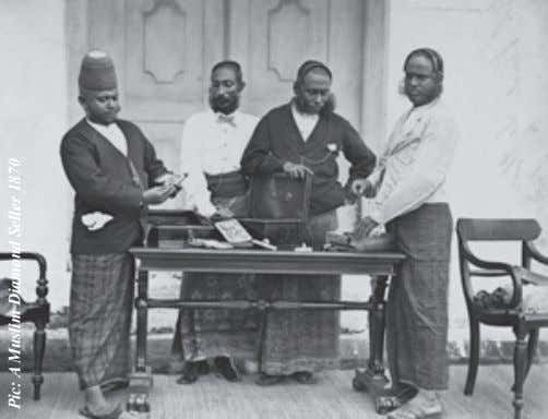 Pic: A Muslim Diamond Seller 1870