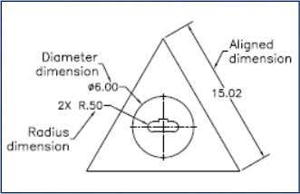 IN AutoCAD  FUNDAMENTAL DIMENSIONING TERMS Various dimensioning parameters Various dimensioning parameters