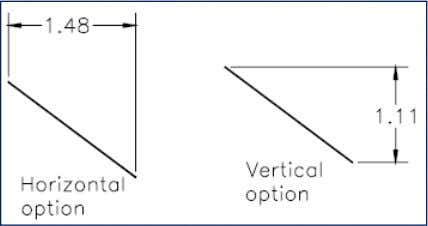 Option Horizontal Option Vertical Option The Text, Angle, and Rotated options The Horizontal and Vertical options