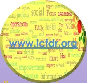 About US iCFDR is a non-for-profit social organization working on upliftment of marginalized and weaker