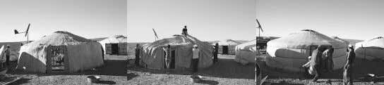outer layer 6. finally ropes are used to compress the yurt no·mad noun: a member of