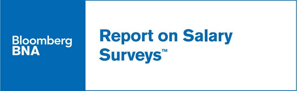 Report on Salary Surveys ™