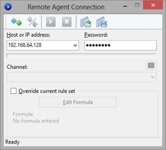 this will be discussed in detail later in this chapter. Click on the New Remote Agent