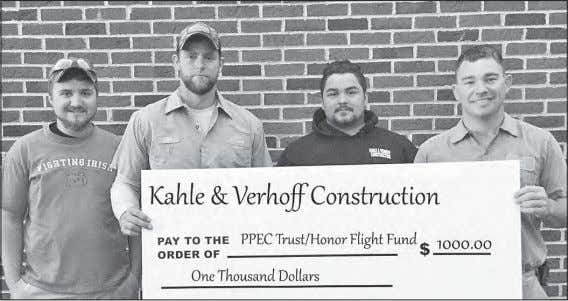 "May 8 79 41 0.07"" May 9 70 41 -0- Kahle & Verhoff Construction from Putnam"