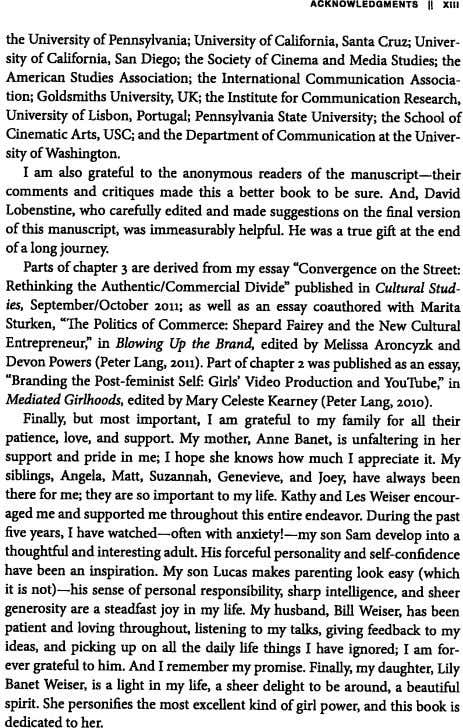 ACKNOWLEDGMENTS 1 XIII the University of Pennsylvania; University of California, Santa Cruz Univer sity of