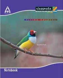 Notebooks 190 x 155 Size (mm) Cover Ruling Pages 190 x 155 Soft Single Line, Unruled,