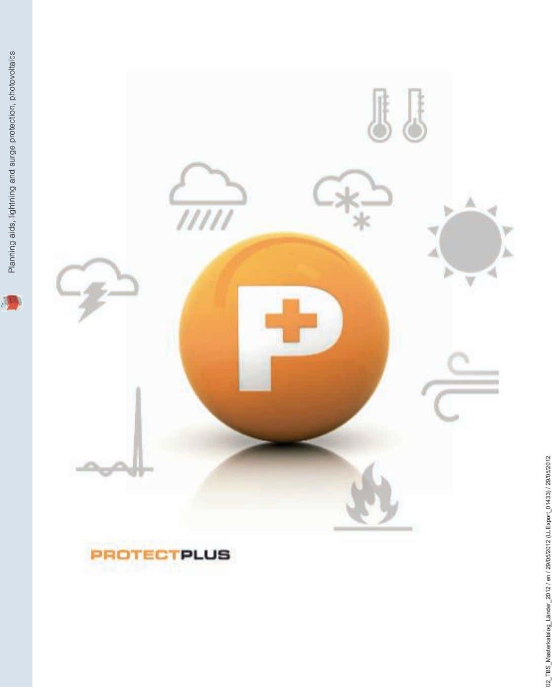 Planning aids, lightning and surge protection, photovoltaics 02_TBS_Masterkatalog_Länder_2012 / en / 29/05/2012