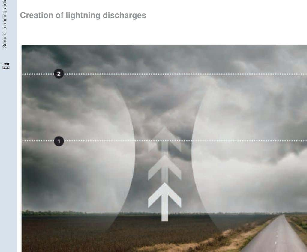 Creation of lightning discharges General planning aids
