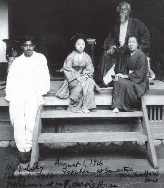 largely from sources external to the self. 2 Adrienne Fast Mukul Dey (far left), Rabindranath Tagore