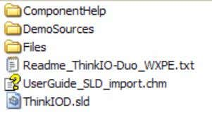 list shoul d be as illustrated in the screenshot below: 5.2 Import of Components To import
