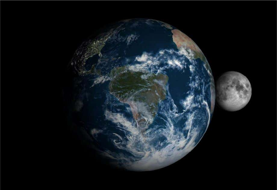 Preposterous http://www.bing.com/images/search?q=photo+of+the+moon+and+earth+together&id=714078