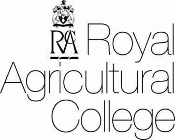 "100 Club RAC/RICS Annual Fellowship in Rural Land Management Royal Agricultural College, Cirencester "" New"