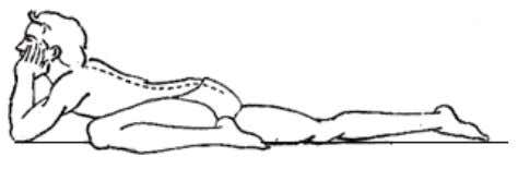 continue normal breathing. EKPAD SAHAJHASTA BHUJANGASANA Posture Pre position Procedure Sitting Position: