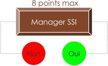 8 points max Manager SSI Non Oui