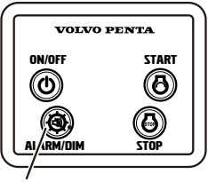 ON/Off START ALARM/DIM STOP