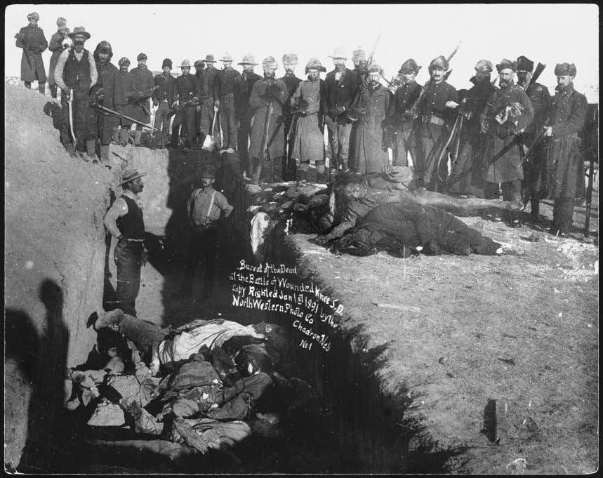 's William F. Kelley, who was present during the fight, Figure 2.3 Burying the dead in