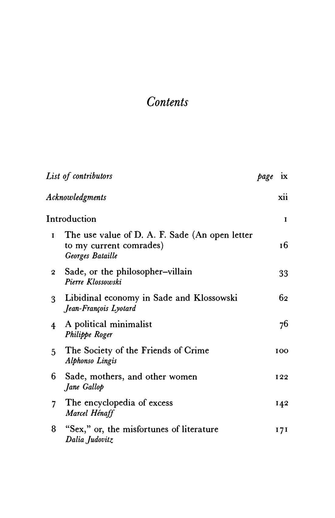 Contents List of contributors page ix Acknowledgments xii Introduction i 1 The use value of