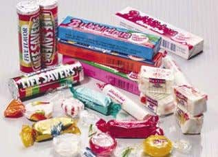 APPLICATIONS Candy packaging Hard candies often contain corn sugars and sorbitol, both of which are highly