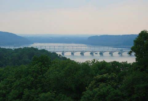 "respective limits, indicating fairly good water quality in the Susquehanna River. "" Susquehanna River at Columbia,"