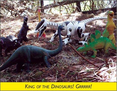 KING OF THE DINOSAURS! GRRRRR!