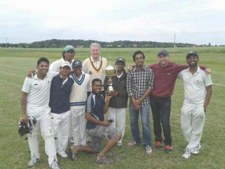 title PCC take T20 league, Vinohrady win inaugural Sixes Dresden celebrate with the Czech Cricket 40-over