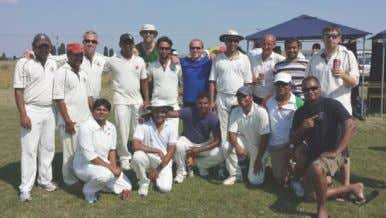 on the leagues can be found at www.czechcricket.cz Players and supporters after PCC's T20 league win