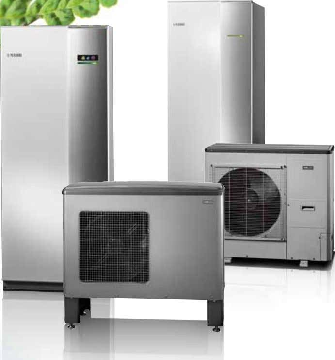 NIBE Energy systems Advanced heat pumps for people who like to keep things simple.