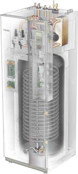 • NIBE SPLIT is a system for heating, cooling and producing hot water for a