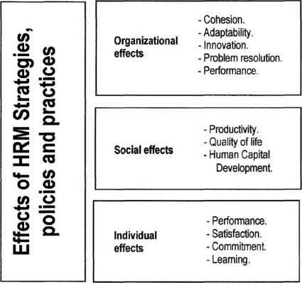 650 The International Journal of Human Resource Management Figure 9 The effects of HRM. Source: Wright