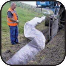 – Drainage management on a roll Enkadrain The Family Road edge drain Lost shuttering Basement wall