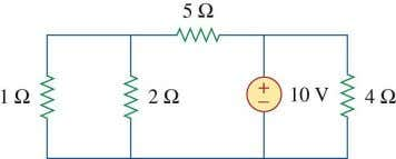 and nodes does the circuit in the following figure have? Identify the elements that are in