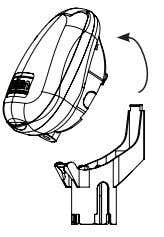 manner from the upper part above the mechanical handle. Diagram 6 2. Hold the controller upside